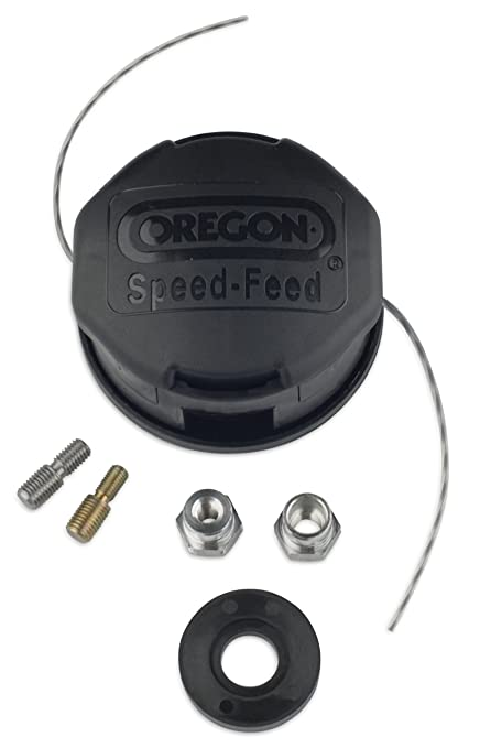 Oregon 55-265 Speed Feed 2 Line Trimmer Head 4 1/2 Inch Straight Shaft