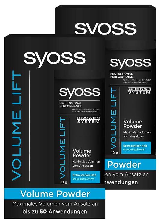 Syoss Volume Lift Styling Powder 10 g Pack of 6: Amazon.co.uk: Beauty