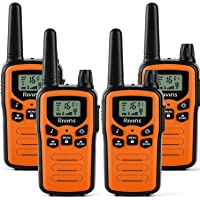Walkie Talkies for Adults 4 Pack 2-Way Radios 22 Channel Radio VOX Scan LCD Display with LED Flashlight Ideal for Biking…