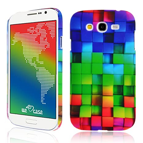 We Love Case Funda para Samsung Galaxy Grand Neo Plus I9060 Carcasa Duro Hard PC Cascara Protección Anti Polvo Resistente Diseño Creativo Original de ...