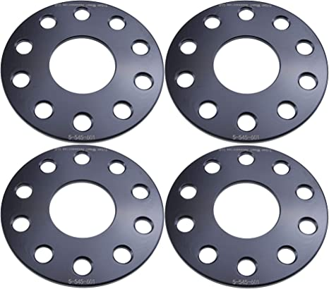 12mm 0.5 inch StanceMagic 60.1mm Centerbore 5x114.3 Hubcentric Wheel Spacers fits Toyota Avalon Camry Supra Scion Tc xB Lexus ES300 ES330 ES350 IS250 IS300 IS350 GS300 GS350 Silver 2pcs