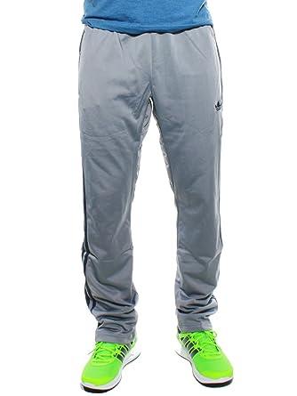 adidas - Pantalón - para hombre gris L : Amazon.es: Ropa y accesorios