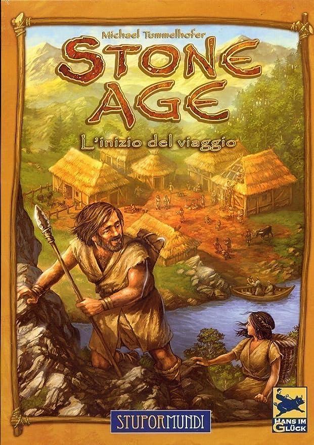 Giochi Uniti Stone Age - Juego de Mesa (versión en Italiano) [Importado de Italia]: Amazon.es: Juguetes y juegos