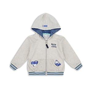 The Essential One - Bébé Enfant Garçon Sweat-Shirt à Capuche - Beige - EOT188