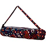 Jaipur Classic Yoga Mat Cover | 100% Cotton | Waterproof Lining | Fit for 8mm Yoga Mat