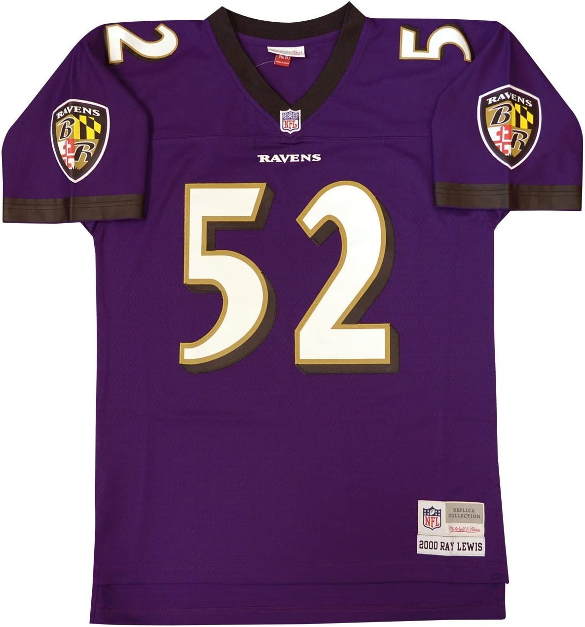 Baltimore Ravens Ray Lewis Mitchell & Ness Throwbackレプリカジャージー  XXX-Large