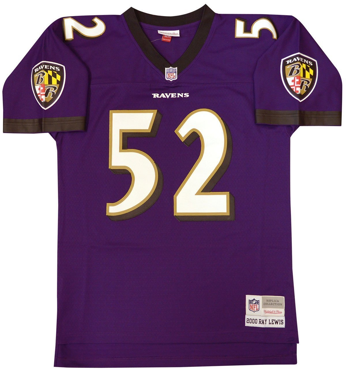 58702f0c0 Amazon.com : Ray Lewis Baltimore Ravens Mitchell and Ness Men's Purple  Throwback Jersey : Clothing