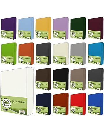 leevitex sábana Bajera Ajustable, sábana Bajera Ajustable 100% algodón en Muchos tamaños y Colores