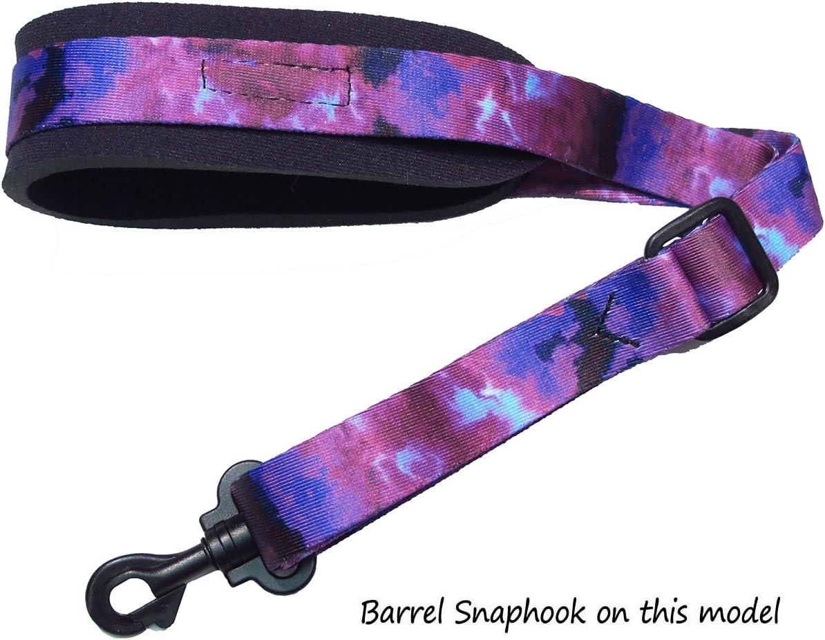 Green Blanket Neoprene padded Saxophone strap with locking swivel snaphook for Alto Tenor or Soprano Sax Model SSXW by Legacystraps