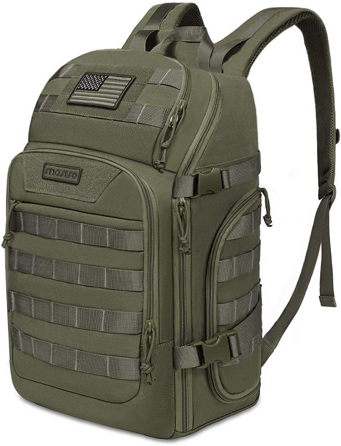 MOSISO 30L Tactical Backpack, Military Daypack 3 Day Assault Molle Rucksack Bag