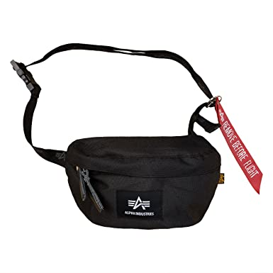 0f0a897334 ALPHA Industries Big A Oxford waist bag Waist Bag  Amazon.co.uk  Clothing