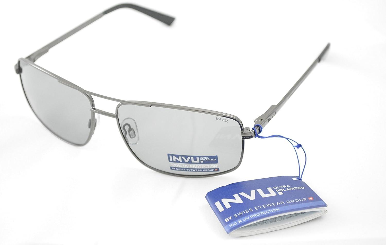 INVU Gafas de Sol polarizadas B 1505 y polarizadas se oscurece 100 ...