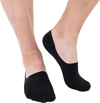 No Show Socks for Men /& Women Cotton Thin Non Slip Low Cut Flat Liner Socks Invisible Casual Boat Socks Pack 5