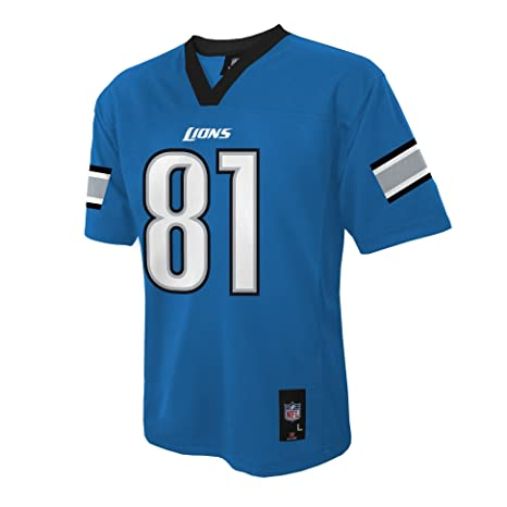6a0c1216f Amazon.com   NFL Youth Boys 8-20 MID-TIER JERSEY -TMC JOHNSON C Lion ...