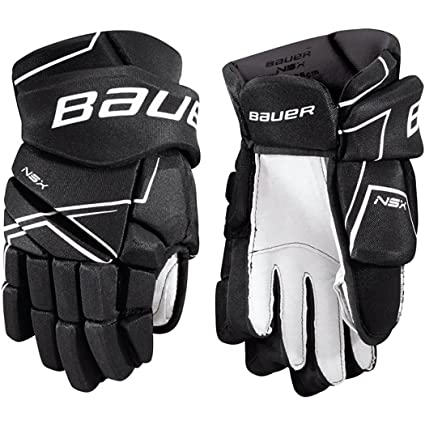 6a87a499551 Amazon.com   Bauer NSX Hockey Gloves (Junior)   Sports   Outdoors