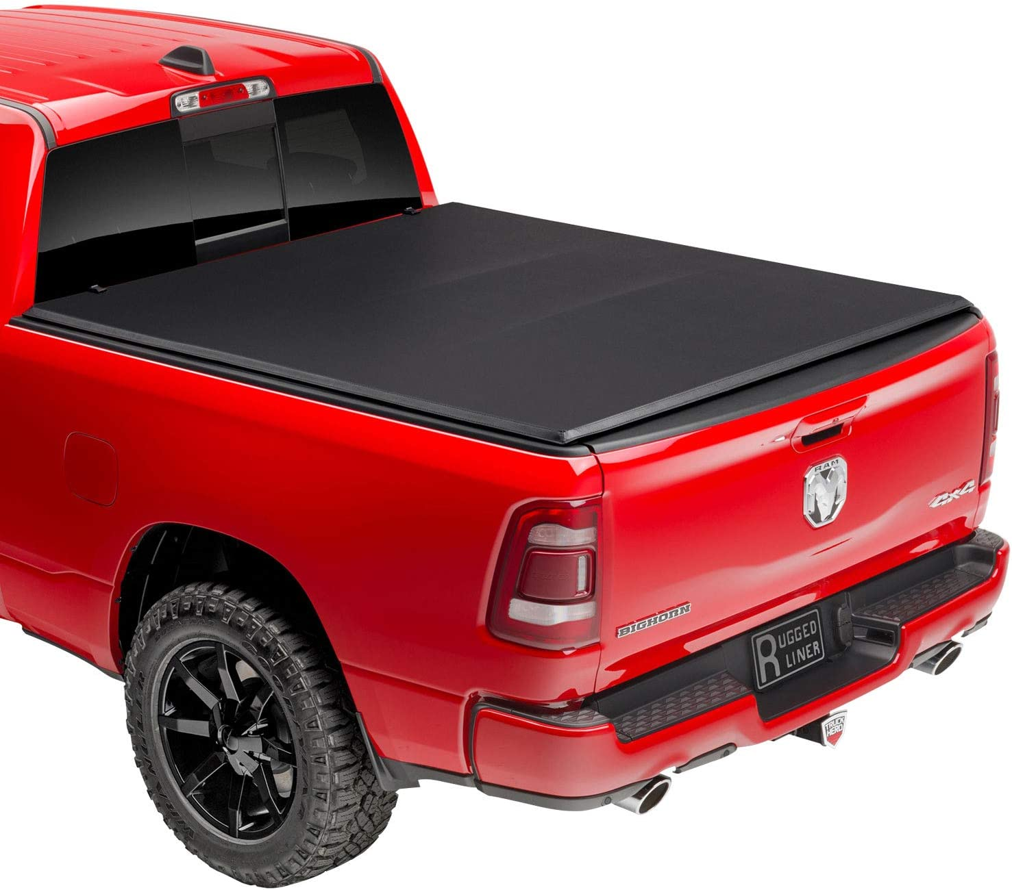 Rugged Liner E Series Soft Folding Truck Bed Tonneau Cover E3 Tun5507 Fits 2007 2013 Toyota Tundra With Or W O Utility Track 5 7 Bed 66 7 Automotive Amazon Com
