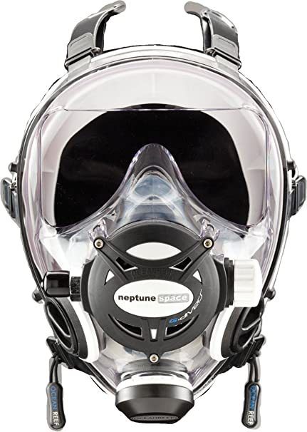 44c6a4cbf56 Image Unavailable. Image not available for. Color  Ocean Reef Predator T  Divers Full Face Diving Mask