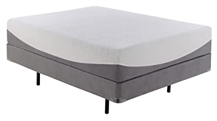 2d0c0a9a99f Amazon.com  Memory Foam with Cool Gel Full Size Mattress and Box ...