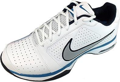 Nike - Zapatillas de Tenis de Cuero para Hombre Blanco Blanco 47 ...