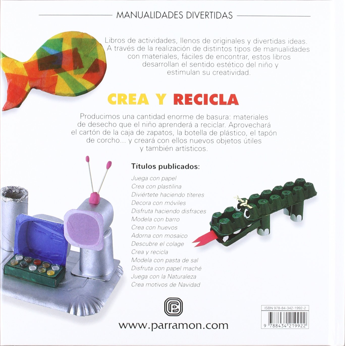 Crea Y Recila (Spanish Edition): Varios: 9788434219922: Amazon.com ...