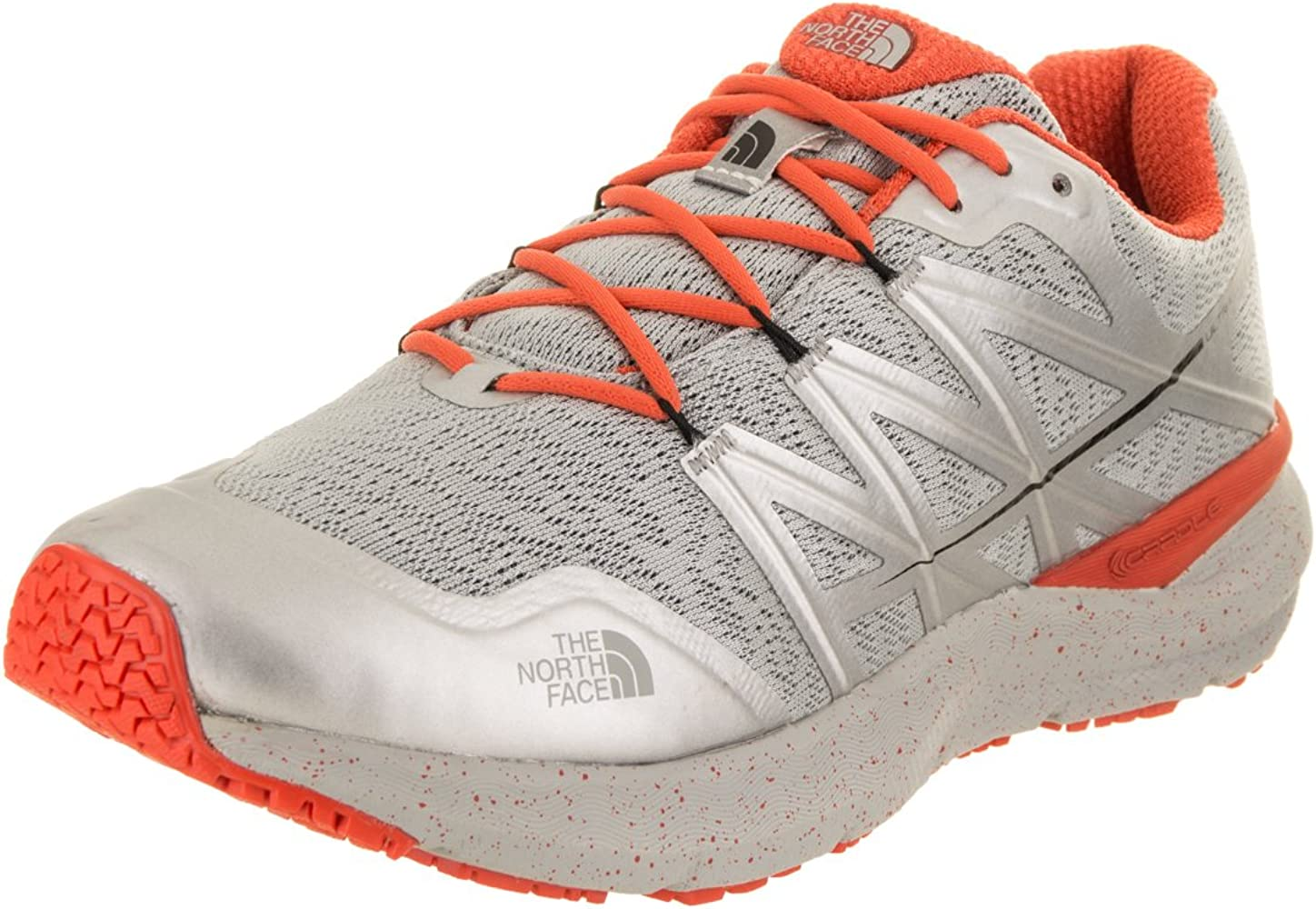 THE NORTH FACE Ultra excursión el Zapato Cardiaca II 12 de EE.UU. Hombre High Rise Gris/Naranja Valencia 12 D (M) US: Amazon.es: Zapatos y complementos