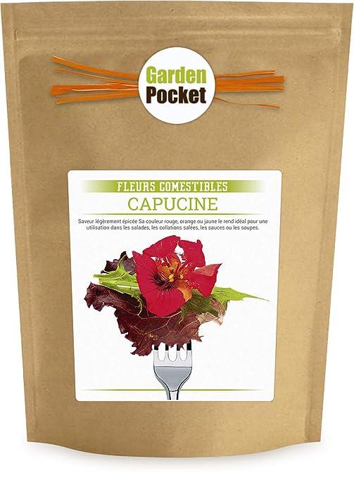 Garden Pocket Fleurs Comestibles Capucine Sac De Pot De Fleur