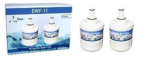 Dista - Refrigerator Water Filters Compatible with Samsung Aqua-Pure DA29-00003G Plus - 2-Pack