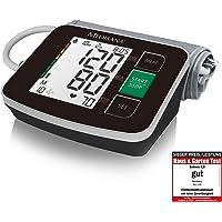 medisana BU 516 Tensiómetro de brazo negro sin cable, pantalla de arritmia, escala de colores del semáforo de la OMS, para la medición precisa de la tensión arterial y del pulso con función de memoria