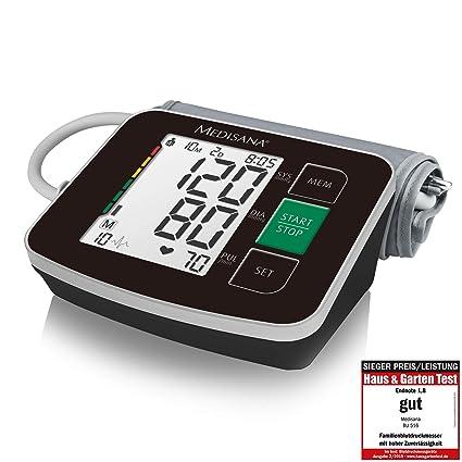 Medisana BU 516 Tensiómetro para el brazo, pantalla de arritmia ...