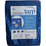 Kotap TRA-0507-40 Durable Multi-Use, 40-Pack Poly Tarpaulin, 5 ft. X 7 ft, Blue