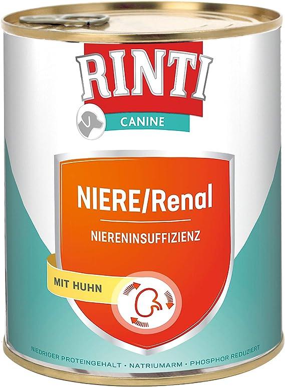 Rinti Canine - Pollo renal (6 x 800 g)