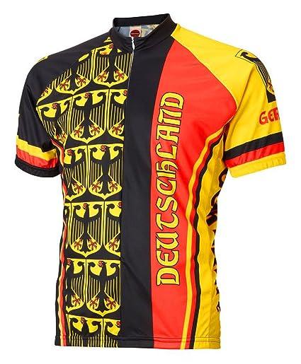 World Jerseys Germany Deutschland Cycling Jersey Men s Medium Short Sleeve 522d9c3c1