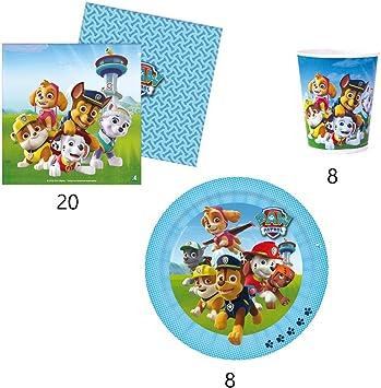 VERBETENA Pack Fiesta Patrulla Canina: Amazon.es: Juguetes y juegos