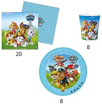 VERBETENA Pack Fiesta Patrulla Canina: Amazon.es: Juguetes y ...