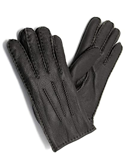 951722b0c59 YISEVEN Women s Merino Sheepskin Shearling Leather Gloves Three Points Soft  Thick Furry Fur Lined Warm Heated