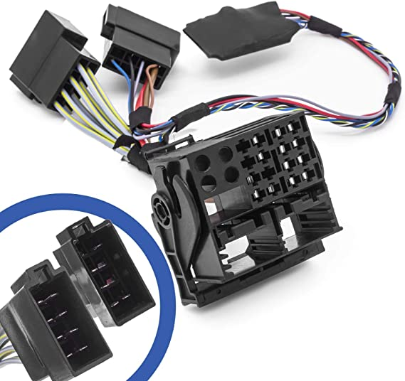 Adapter Universe Can Bus Simulator Quadlock Din Iso Adapter Kabelbaum Vw Interface Mdf 2 Rns 2 Delta 6 Rcd 100 200 300 500 Auto