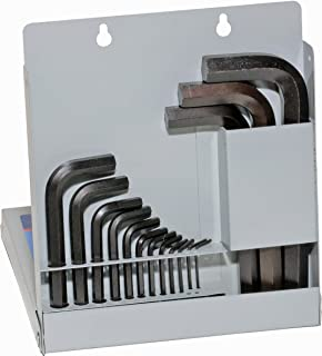 product image for EKLIND 10512 Hex-L Key allen wrench - 12pc set Metric MM sizes 0.7-10 Short series w/ metal box