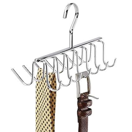 Amazon.com  Metal Tie and Belt Hanger 3aca1312b1