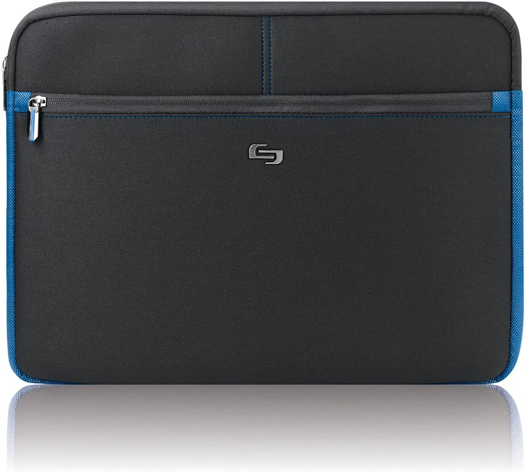 "Solo Active 16"" Laptop Sleeve, Black, TCC105-4/20"