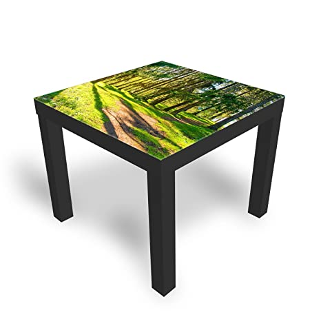 Dekoglas Ikea Spring Park Table Basse Avec Plateau En Verre