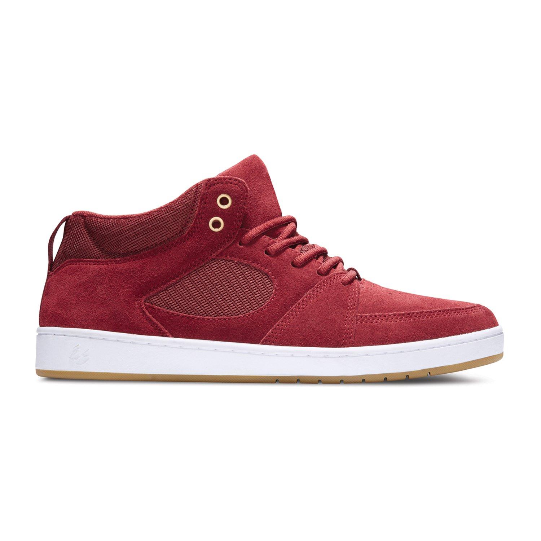 ES ES ES Accel Slim Mid Bordeaux Shoe, Burgundy 478e47