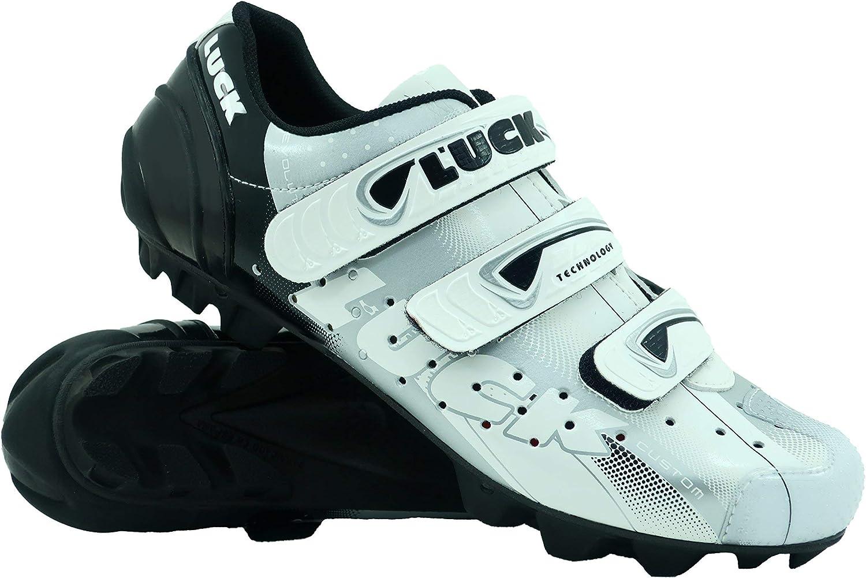 LUCK Zapatilla de Ciclismo Extreme MTB, con Suela de Carbono y ...