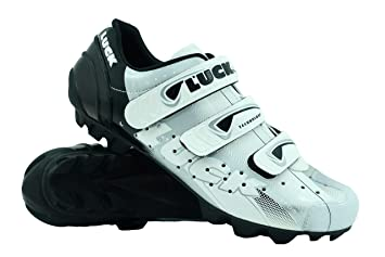 LUCK Zapatilla de Ciclismo Extreme MTB, con Suela de Carbono y Triple Tira de Velcro.(48 EU): Amazon.es: Deportes y aire libre