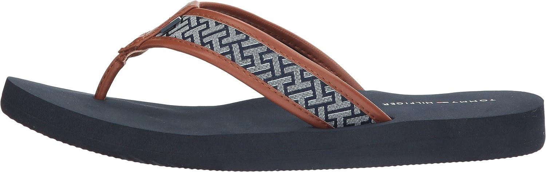 Amazon.com | Tommy Hilfiger Women's Ceslyn 2 Blue Multi Fabric Shoe | Shoes