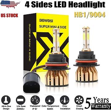 H11 180W 18000LM 2-Sided LED Headlight Kit Low Beam Bulbs 6000K White High Power
