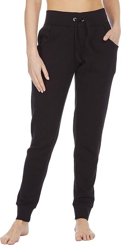Cottonique Pantalones de chándal de algodón para mujer: Amazon.es ...