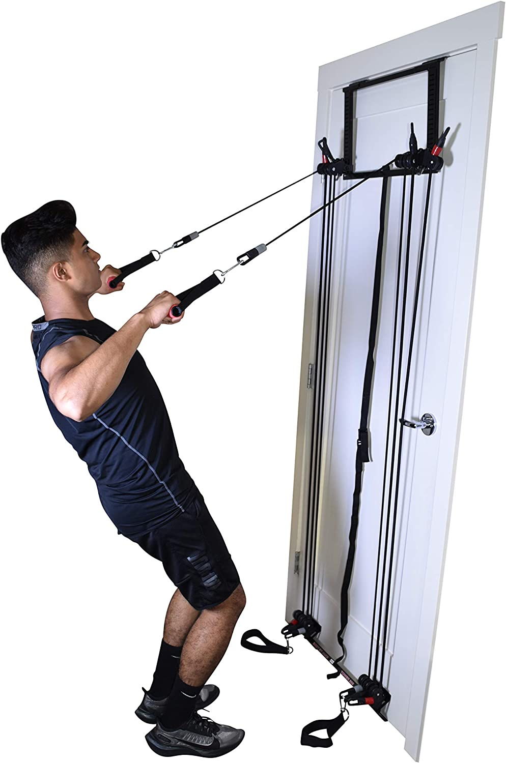 Tower 200 Complete Door Gym Full Body Workout System Fitness Exercise Home Gym Strength Training