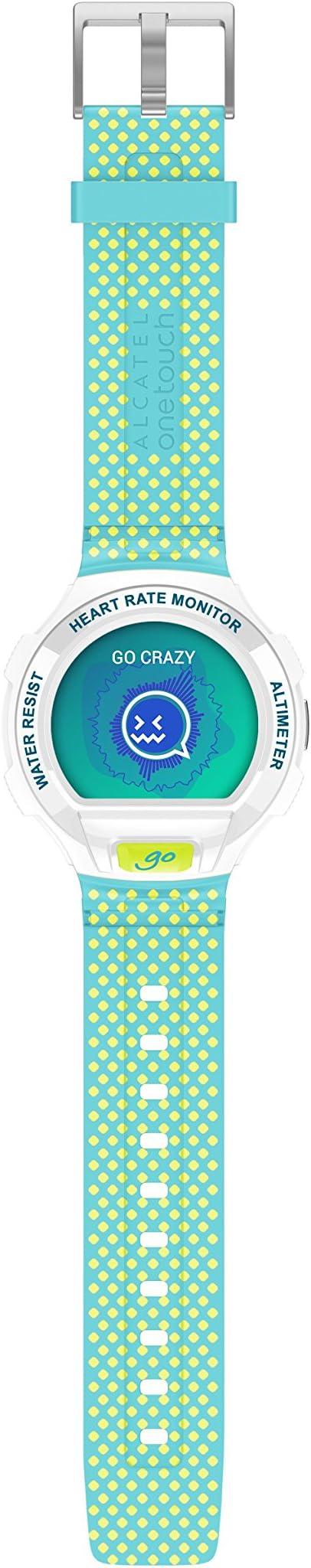 Alcatel SM03-WH - Reloj Inteligente con Bluetooth, Color Blanco ...