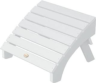 product image for Highwood AD-OTL1-WHE Adirondack Folding Ottoman, Adult, White