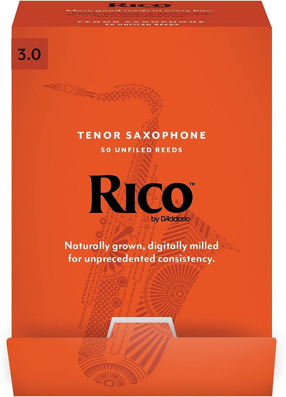 Strength 3.0 50-pack Rico Tenor Sax Reeds